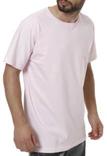 Camiseta Linha Leve Rosa