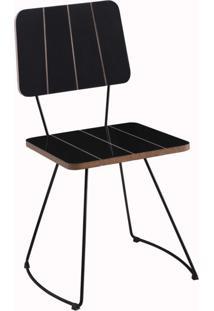 Cadeira Gran Belo Luxemburgo Preto