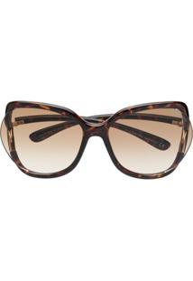 Tom Ford Eyewear Anou 02 Sunglasses - Marrom