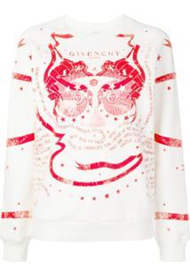Givenchy Blusa De Moletom Com Estampa - Neutro