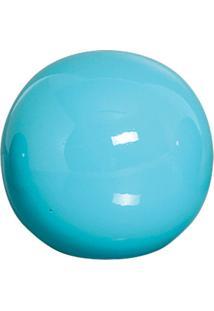 Esfera Danna De Cerâmica 12Cm Azul Mazzotti