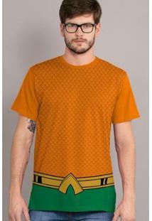 Camiseta Bandup The Joker Haha Classic - Masculino-Laranja
