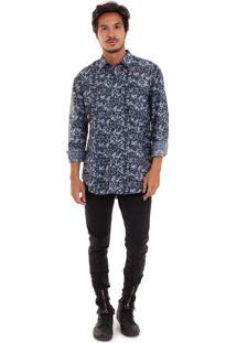 Camisa Joss Camuflada Azul