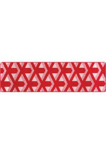 Passadeira Andino Pa12 0.66X2.30 - Lancer - Vermelho