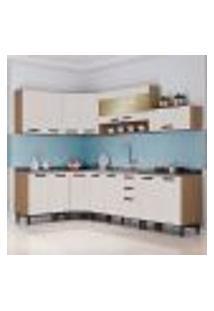 Cozinha Completa New Jazz Iii 15 Pt 2 Gv Off White E Freijó