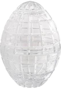 Petisqueira De Cristal Transparente Lodz