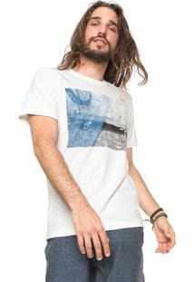 Camiseta Redley Skate Cut Off-White