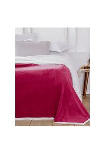 Cobertor Casal Corttex Áustria Vermelho