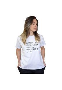 Camiseta Boutique Judith Libriana Branco