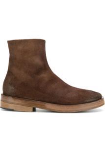 Marsèll Ankle Boot Com Fechamento Lateral Por Zíper - Marrom