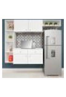 Cozinha Compacta Suspensa Itapuã 4 Pt 2 Gv Branca
