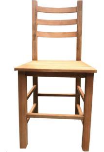 Cadeira Avulsa De Madeira Maciça Móveis Rústicos Bv Magazine