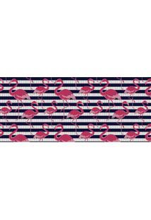 Passadeira De Cozinha Flamingo 43X130Cm - Kapazi - Estampado