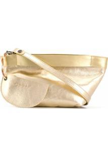 Marsèll Clutch Metálica - Dourado