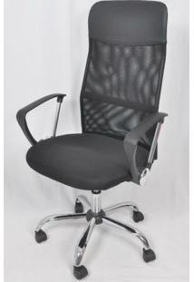 Cadeira Giratória Executiva Plus Cx4D-Cx0300H Bric Preto