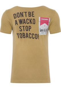 Camiseta Masculina Tobacco - Marrom