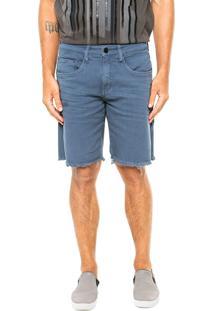 Bermuda Calvin Klein Jeans Bolsos Azul