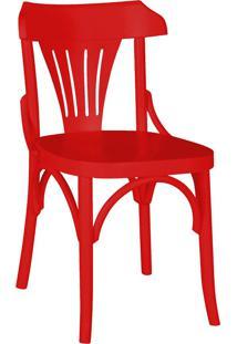 Cadeiras Para Cozinha Opzione 81 Cm 426 Vermelho - Maxima