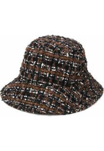 Dolce & Gabbana Chapéu Bucket De Tricô - Preto