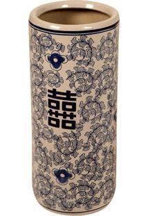 Vaso Decorativo De Porcelana Sprawl