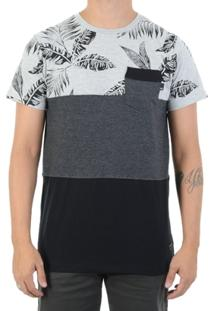 Camiseta Quiksilver Mavi - Masculino