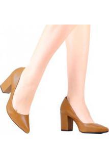 Sapato Schutz Scarpin Salto Grosso