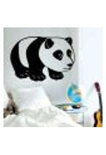 Adesivo De Parede Animais - Panda - Es 100X144Cm