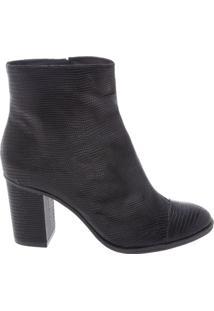 Ankle Boot Croco Black | Schutz