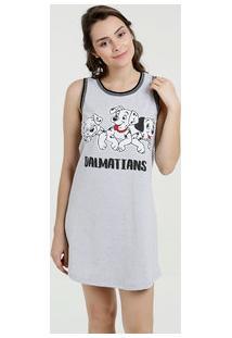 Camisola Feminina Estampa 101 Dalmatas Disney