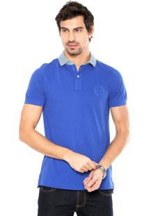 Camisa Polo Tommy Hilfiger Color Azul