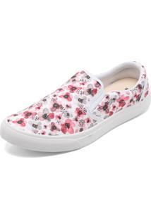 Dafiti. Tênis Casual Dafiti Shoes Slip On Lona Branco 6ba66372cdf56