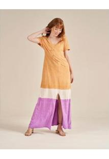 Vestido Zinzane Stone Tie Dye Feminino - Feminino