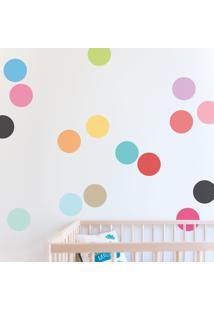 Kit De Adesivos Circle Color