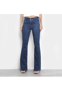 7fbc38111 ... Calça Jeans Flare Maria Filó Cintura Média Feminina - Feminino