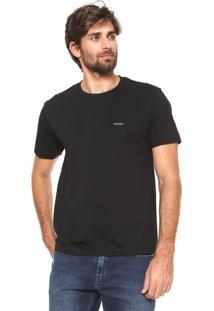 Camiseta Wrangler Collecti Preta