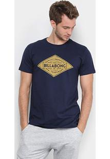 Camiseta Billabong Supply Masculina - Masculino-Marinho