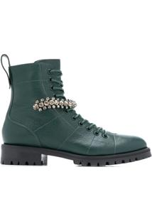 Jimmy Choo Ankle Boot 'Cruz' - Verde