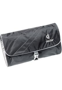 Necessaire Deuter Wash Bag Ii Preta Para Viagem Com Espelho Removível 707020