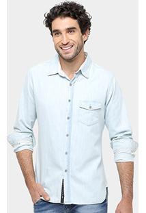 Camisa Jeans Sergio K Regular Fit Masculina - Masculino