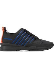 Dsquared2 Low-Top Sneakers - Preto