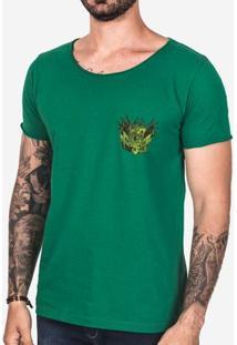 Camiseta Brasão Velho Verde 102955