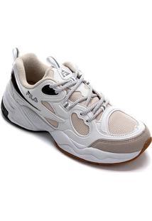 Tenis Fila Speed Trail Feminino - Feminino-Branco+Preto