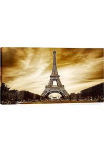 Quadro Paris Marrom 55X100Cm