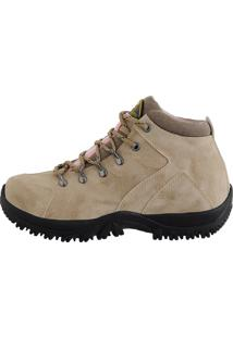 Coturno Adventure Cr Shoes Bege/Rosa