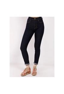 Calça Jeans Super Lipo Sawary Feminina Azul
