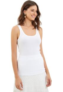 Regata Le Lis Blanc Nancy Ii Malha Branco Feminina (Branco, M)
