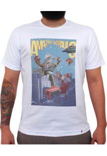 Yoshipi Battles The Bird Robots - Camiseta Clássica Masculina