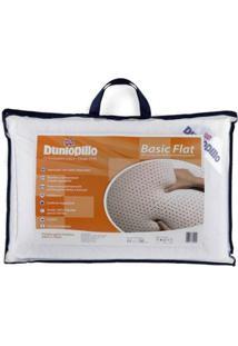Travesseiro Dunlopillo Basic Flat Látex 50X70 Cm