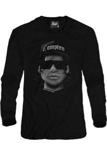 Casaco Moletom Skull Clothing Eazy Face Masculino - Masculino-Preto