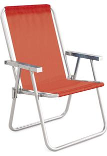 Cadeira Alta Conforto Alumínio Sannet Coral